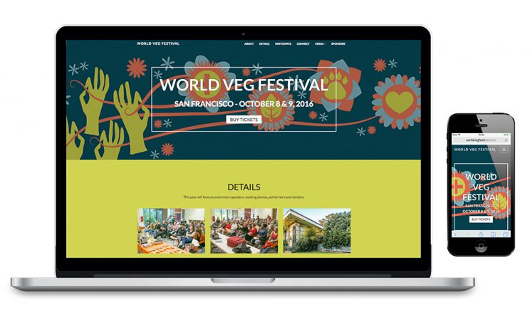 World Veg Festival Website