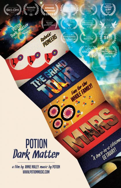 Potion: Dark Matter Film Poster w/Laurels
