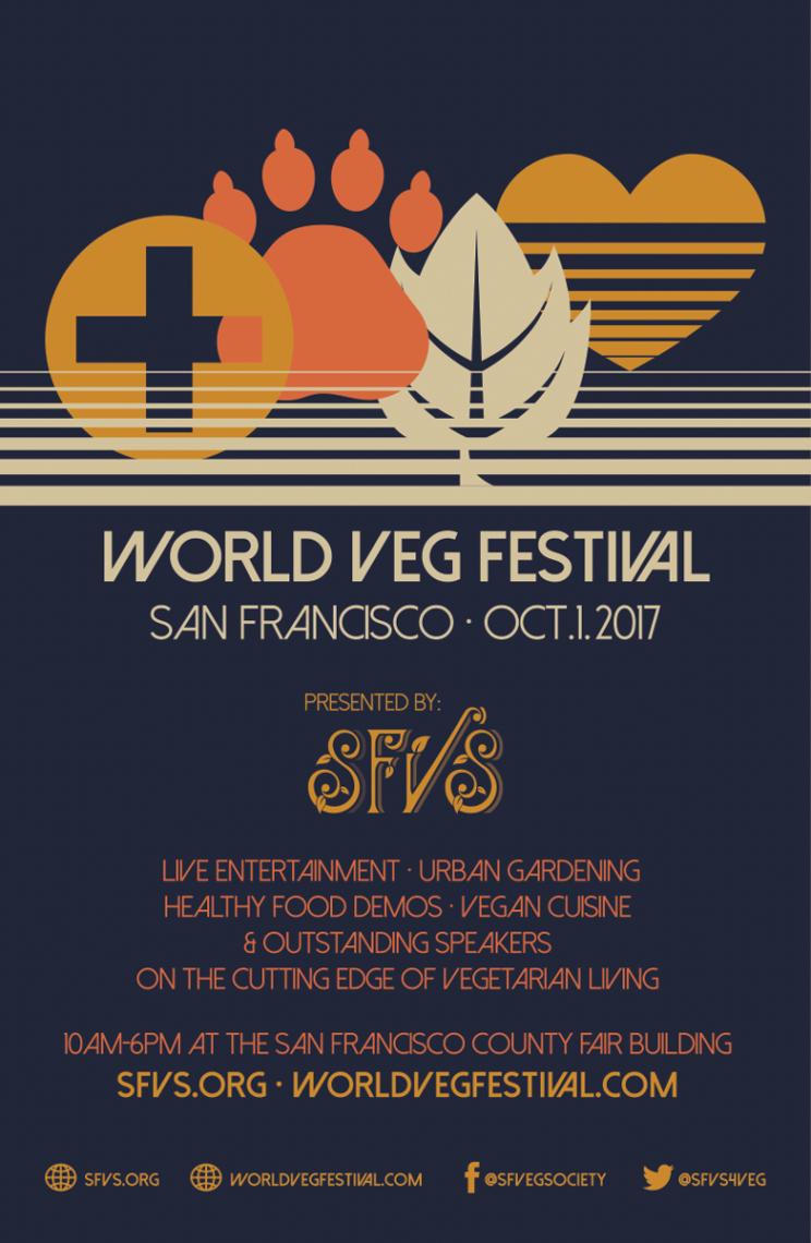 World Veg Festival 2017 Poster