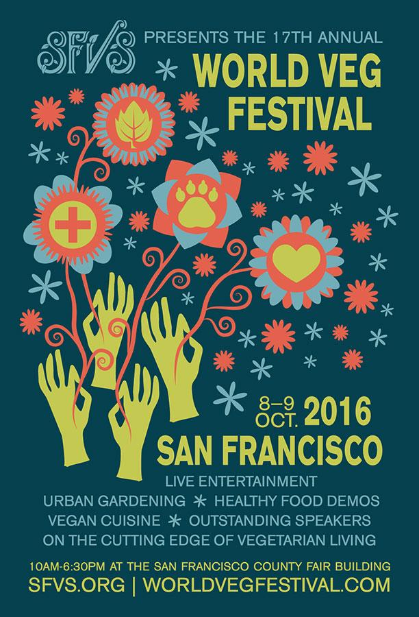 World Veg Festival 2016 Poster